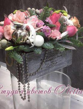 Ящик с новогодними сокровищами