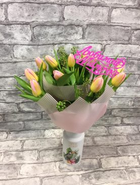 Букет из Тюльпанов «Дыхание Весны»