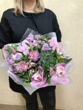 Лавандово-розовое настроение